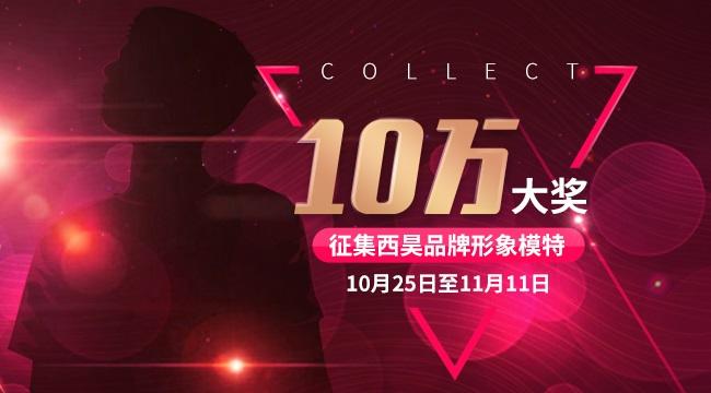 西昊双十一计划,10万大奖征集产品模特