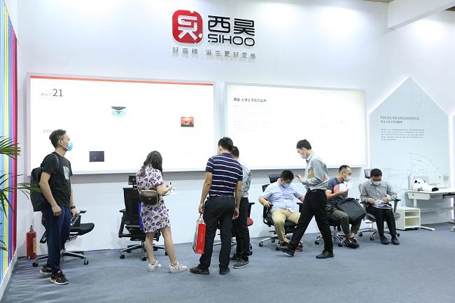 厚积薄发,西昊在第45届广州(国际)家具博览会上大放异彩